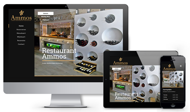 ForEBS - portfolio Restaurant Ammos